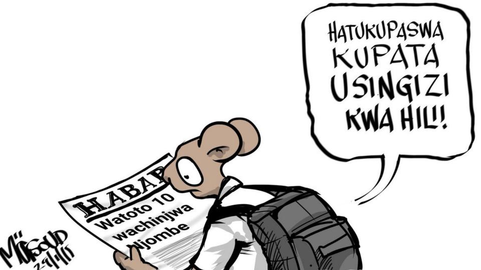 Hatupaswi kupata usingizi kwa watoto 10 waliochinjwa Njombe hapahapa Tanzania.