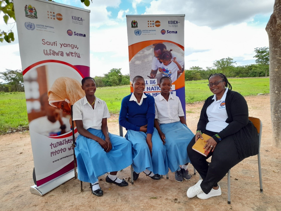 16 Days of Activism: 'realising gender equality through empowering adolescent girls in Msalala'.
